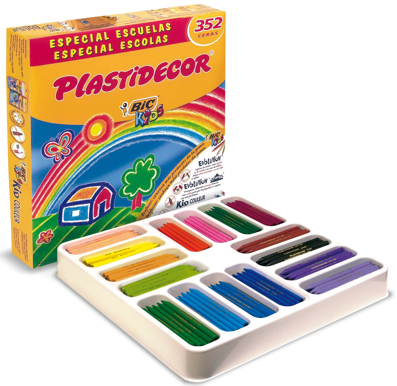 Kit Escolar Plastidecor