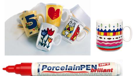 Rotuladores Porcelana Hobby Line