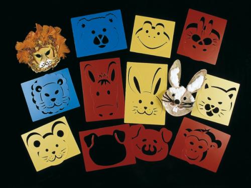 Maxiplantillas Máscaras