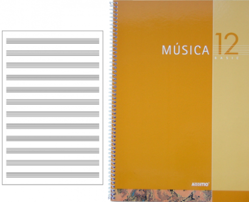 Cuadernos Música Secundaria Basic 12 Additio