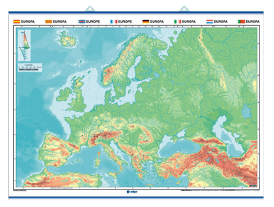 Mapas Murales Edigol (140x100 cms.)