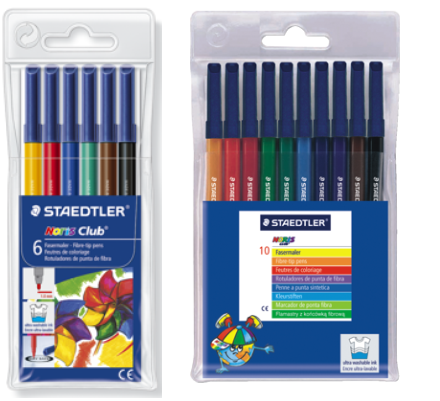 Rotuladores Staedtler Noris Club 326