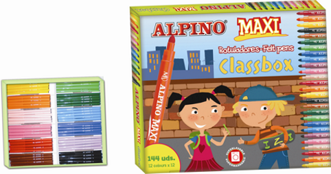 Kit Escolar Alpino Maxi Economy Pack