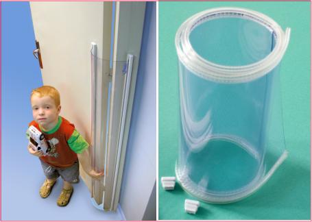 Protección Salva Dedos Opaco