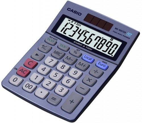 Calculadora Casio MS-100TERII