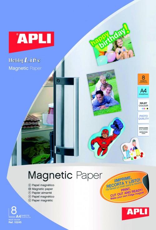 Papel Magnético APLI