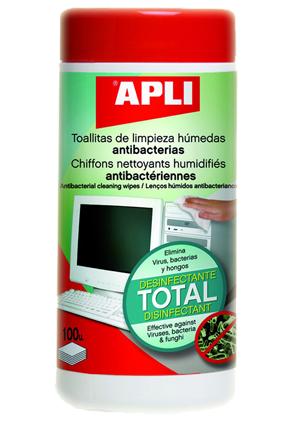 Toallitas Apli Limpiadoras Antibacterianas