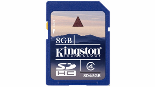 Tarjetas de Memoria Secure Digital Kingston