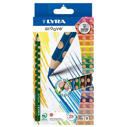 Lápices colores Lyra Groove