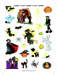 Gomets Temáticos Halloween