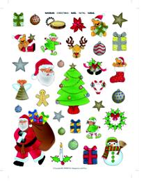 Gomets Temáticos Navidad