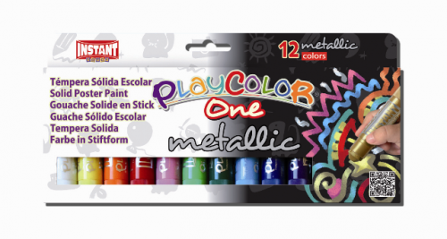 Témpera Playcolor One Metalizada