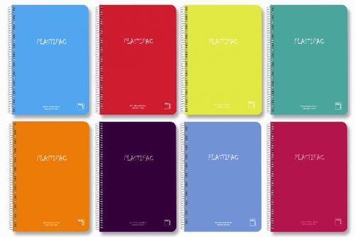 Cuadernos Pacsa tapas plástico Plastipac