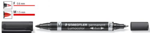 Staedtler Lumocolor Doble Punta Permanente