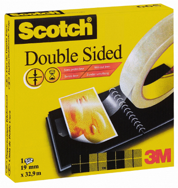Cinta Doble Cara Scotch 665
