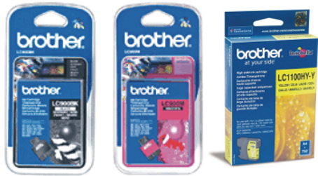 Cartuchos Inkjet Brother